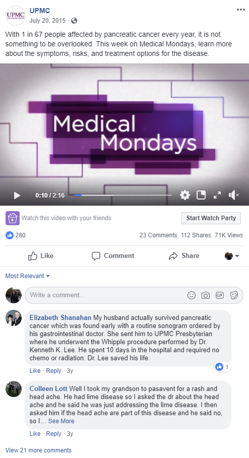 Medical Mondays social post